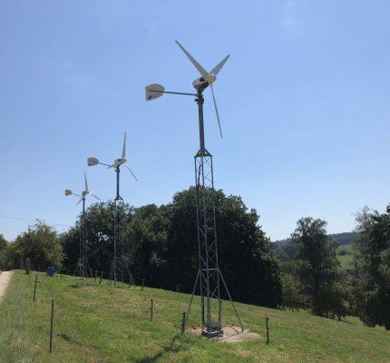 Kleinwindenergie: Wind vor Ort nutzen