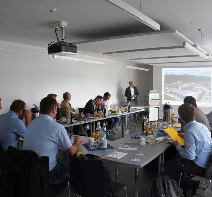JP Industrieanlagen GmbH aus Straubing: Gastgeber des Energieeffizienznetzwerkes Niederbayern EN²
