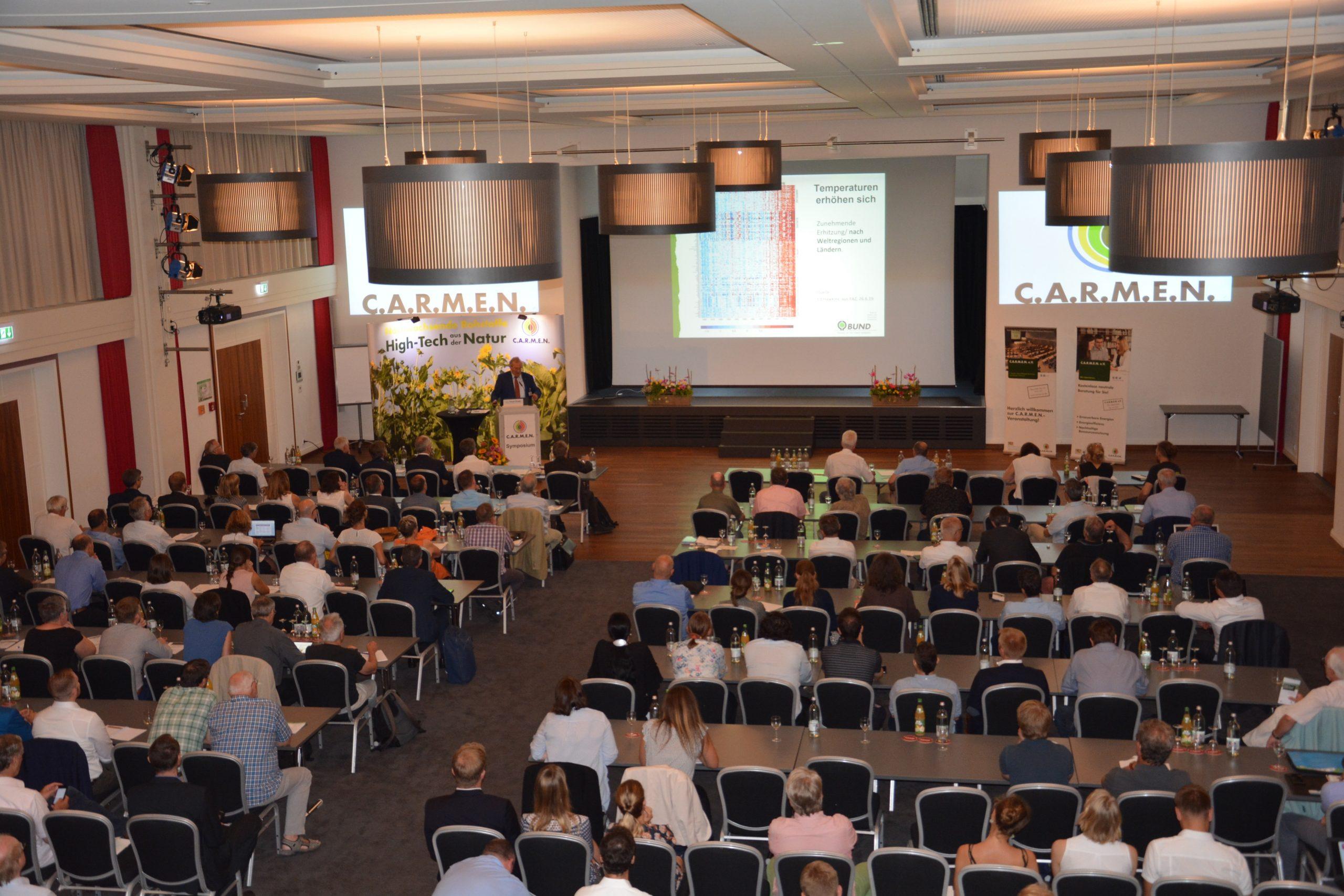 Nachhaltige Lösungen bei 27. C.A.R.M.E.N.-Symposium präsentiert