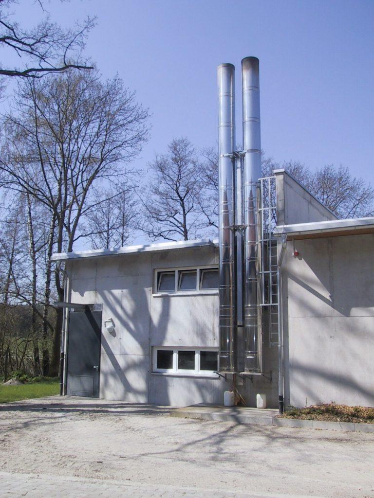 Biomasseheizwerk
