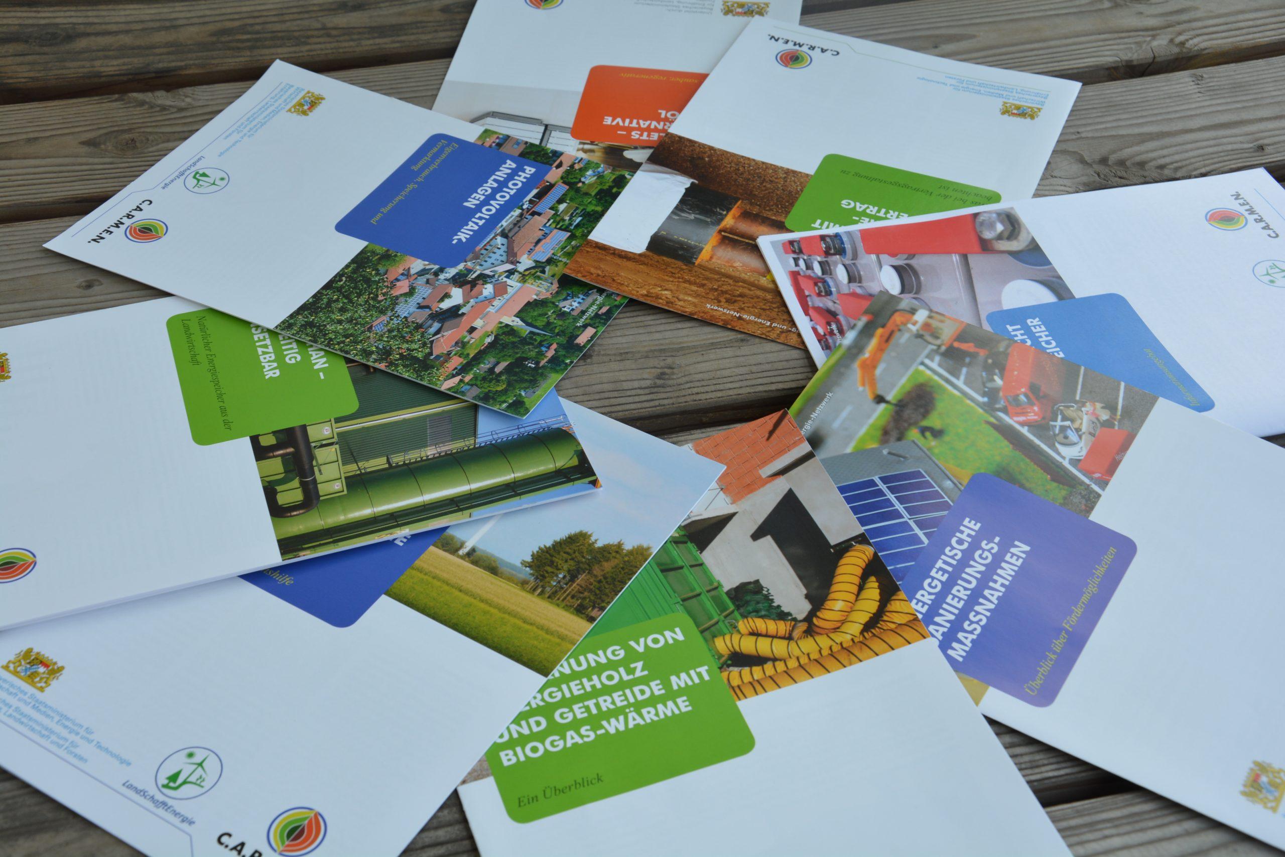 Biogas im Ökologischen Landbau: Informationsmaterial und Literatur
