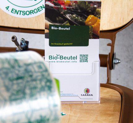 Start der Umfrage zum Bio-Beutel in Straubing