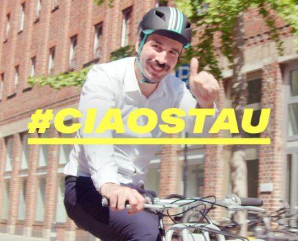 """Aktion für klimaschonendere Mobilität """"CIAO STAU"""""""
